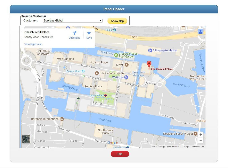 Profound UI AS400 Google Maps